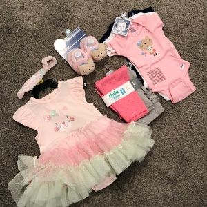 Other - Lot of brand new baby girls clothes